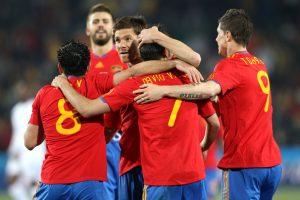 منتخب اسبانيا هو المنتخب الفائز بكاس العالم 2010