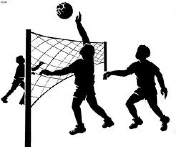 ابعاد ملعب كرة الطائرة