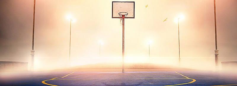 طول ملعب كرة السلة وعرضه