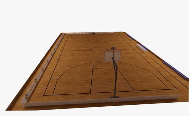 صور مقاسات ملعب كرة السلة