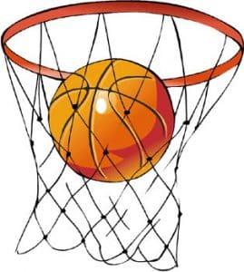 رسم ملعب كرة السلة