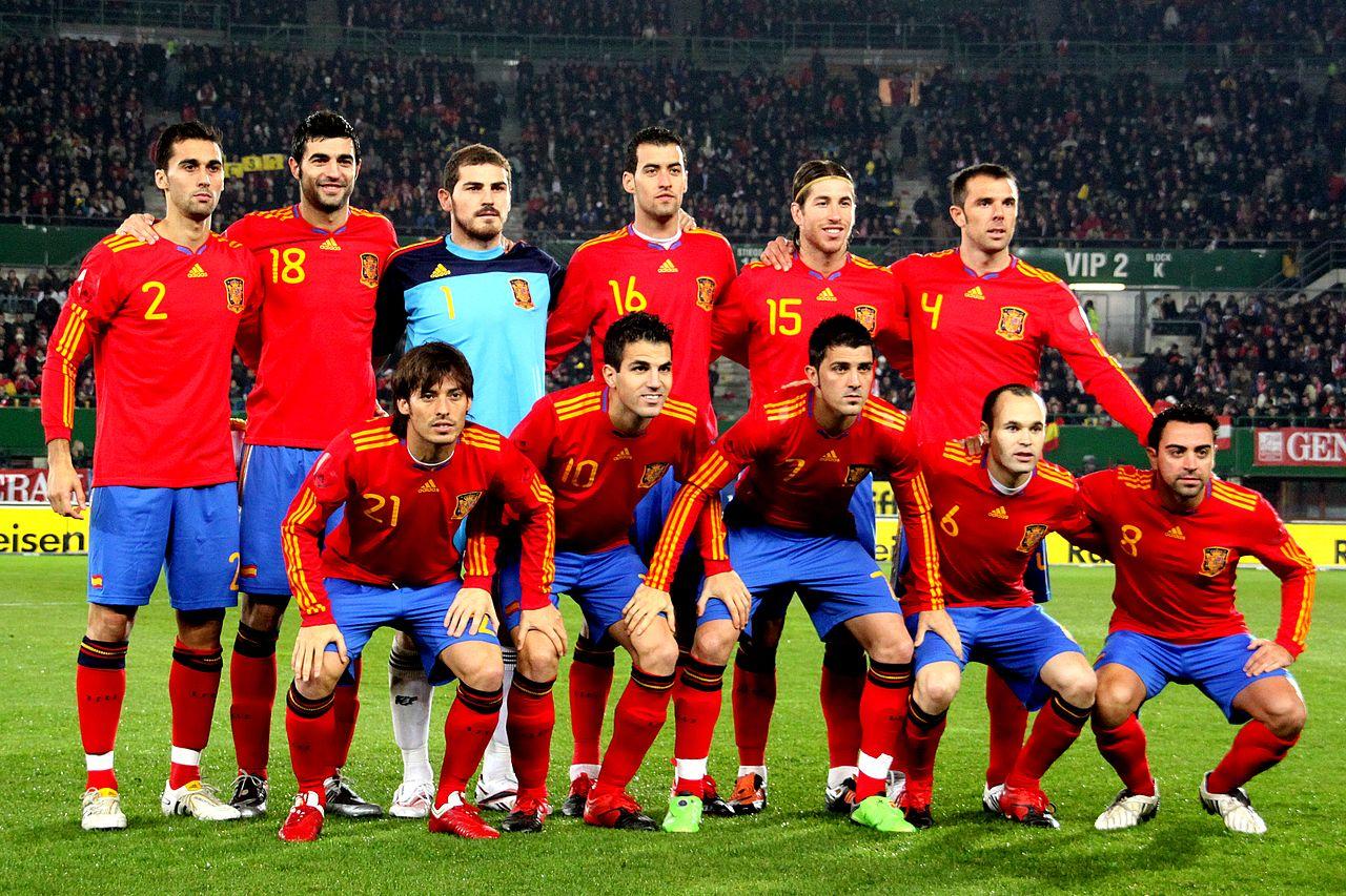 صور لقب منتخب اسبانيا