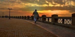 افضل اوقات المشي