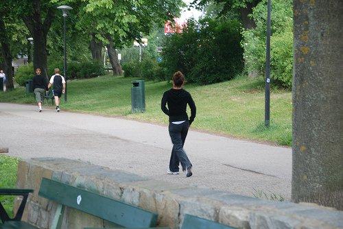 صور افضل اوقات المشي