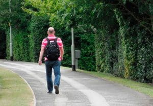 المشي الصحي كم كيلو
