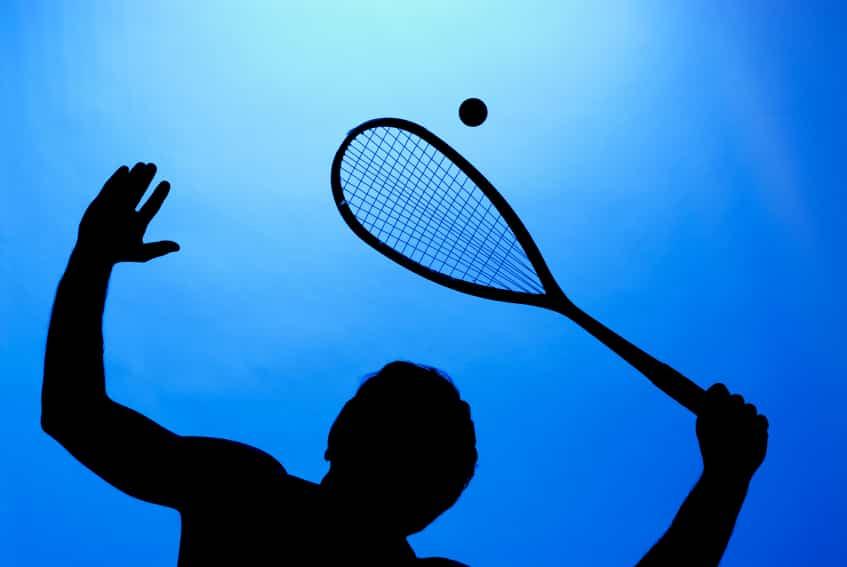 رياضة تلعب بالمضرب من 6 حروف