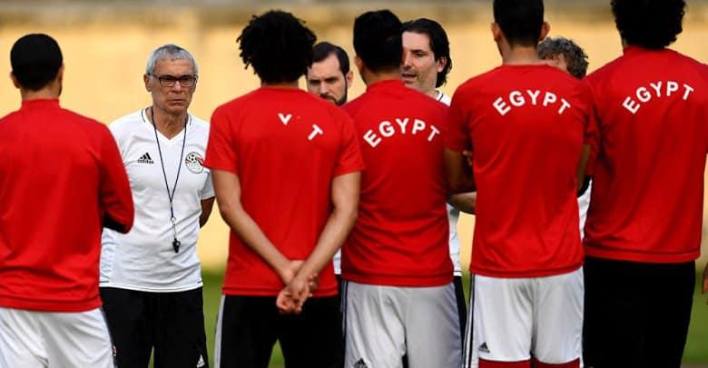 صور القائمة المبدئية لمنتخب مصر لنهائيات كأس روسيا 2018