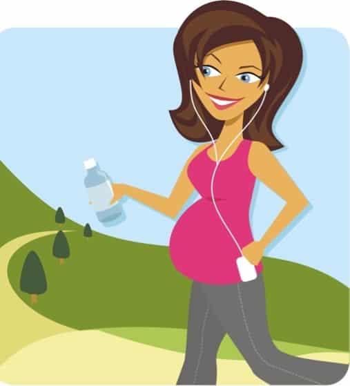 المشي للحامل