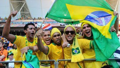 صور توقيت مباراة البرازيل