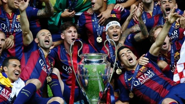 بطولات برشلونة
